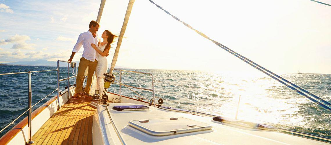 приключения на яхте в Ментоне